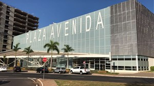 Fachada do Plaza Avenida Shopping
