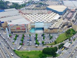Fachada do Internacional Shopping