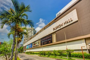 Fachada do Fashion Mall
