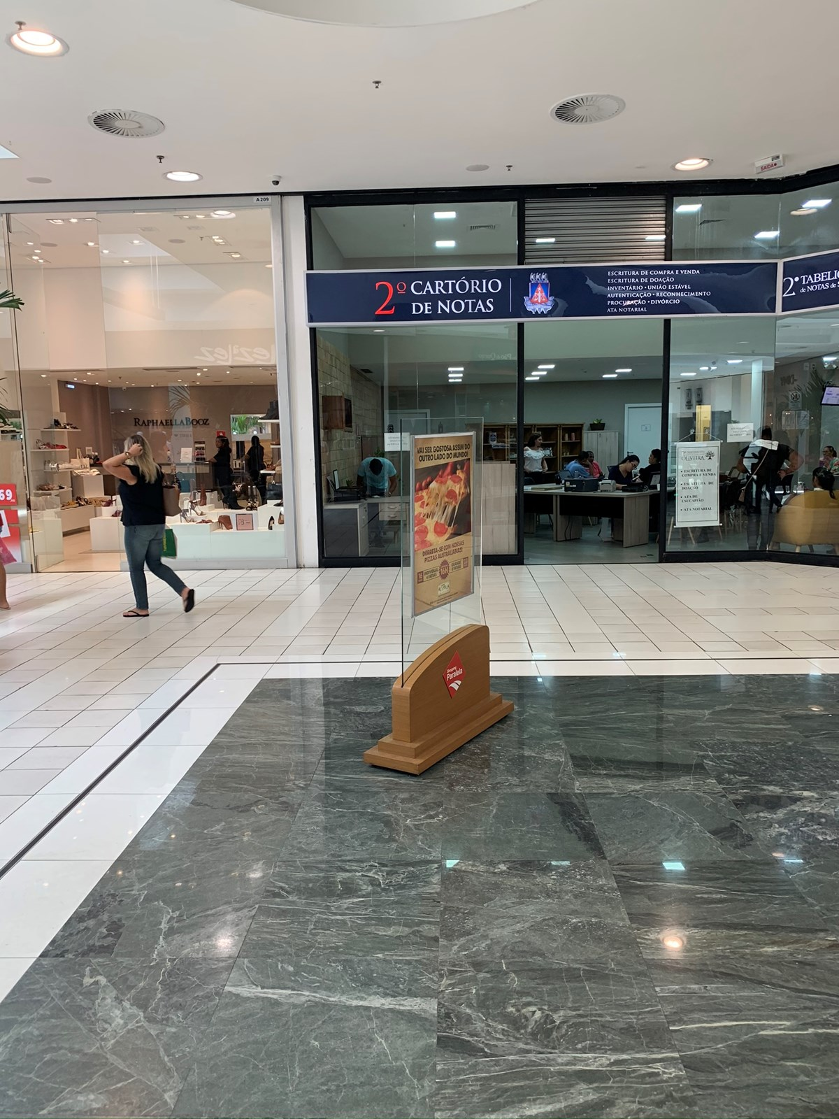 Foto do ponto Quiosque próximo a entrada do Metrô do Shopping